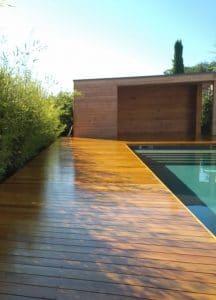 tour de piscine bois blauzac