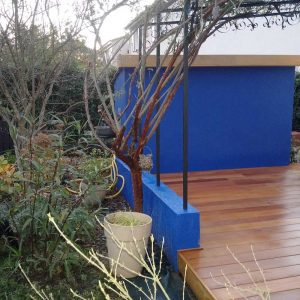 terrasse bois garapa gard