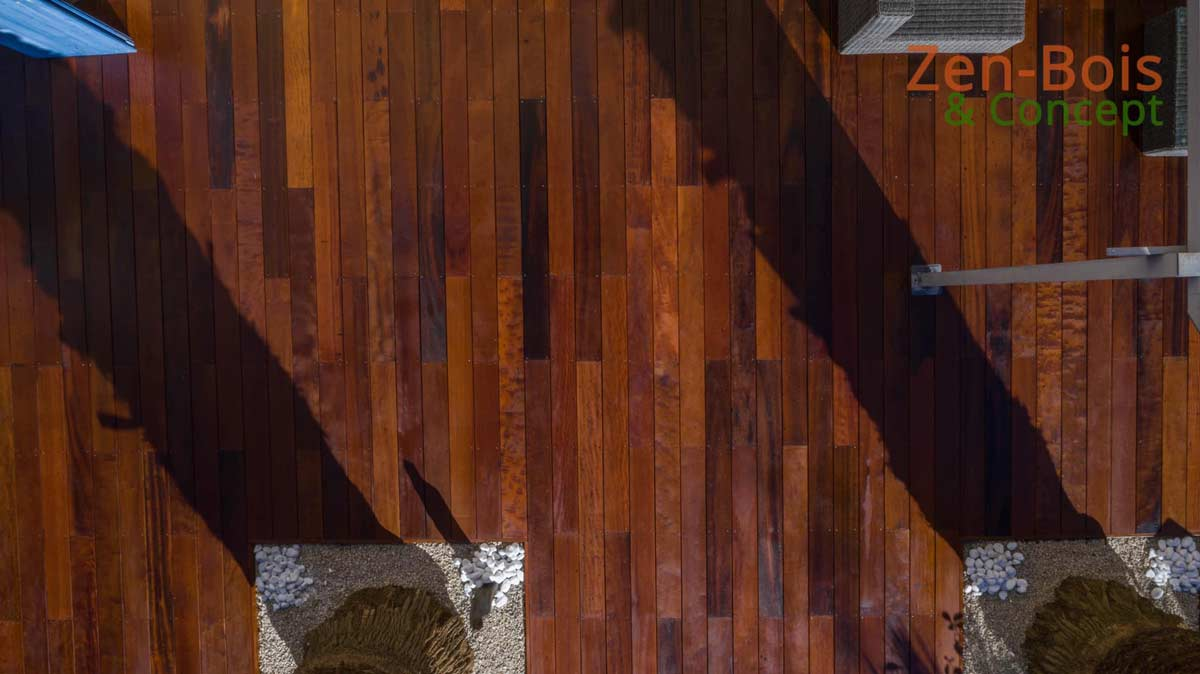 pose terrasse bois calvisson