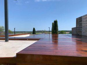terrasse en bois Itauba calvisson
