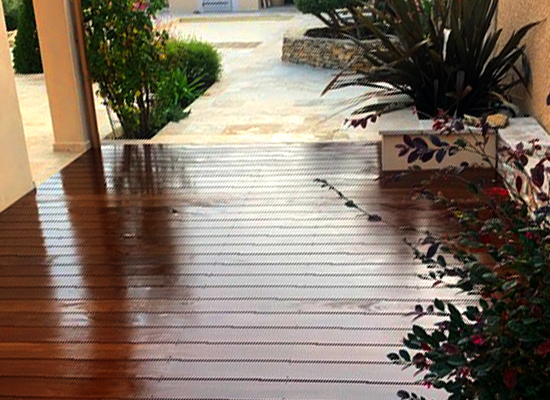 terrasse bois IPE herault