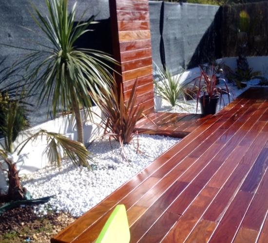 terrasse bois cumaru gard
