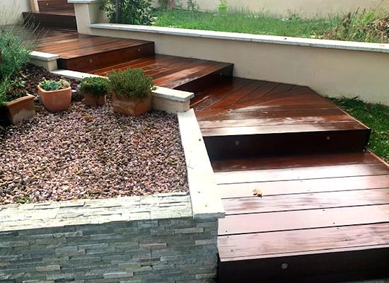 terrasse bois exotique boisseron herault