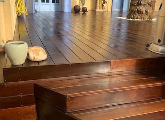 terrasse bois exotique montpellier
